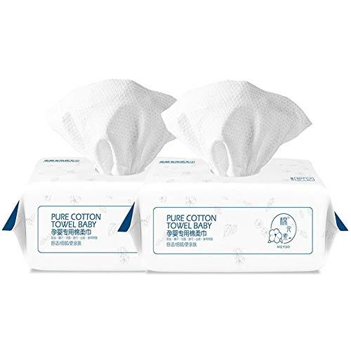 DALL Wegwerp Gezichtsdoek Niet-geweven Goede Flexibiliteit Reiniging Gezicht Handdoek Zachte Niet-irriterende Huidverzorging Katoen Weefsel