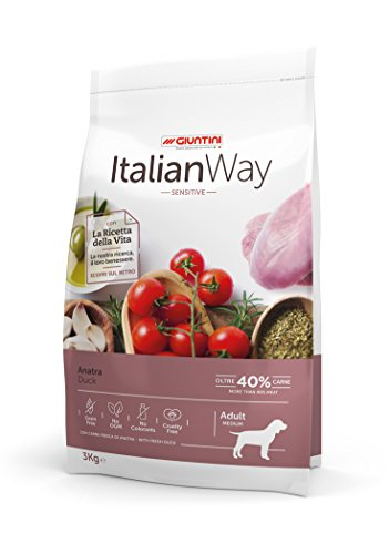 Italian Way Cibo per Cani Sensitive Anatra - Adult - Medium - 12 kg