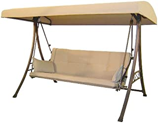 Garden Winds Replacement Canopy for Hampton Bay S010047 Swing (Will Not Fit Any Other Swing)