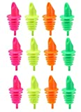 Ausgießer neon lebensmittelgeeignet 12 Stück im Pack