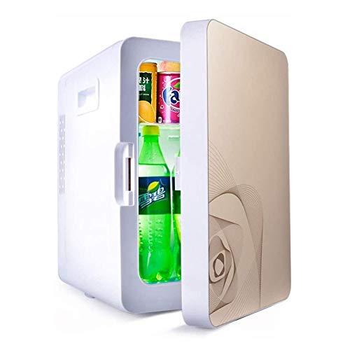 LZCYN Coche Pequeño Refrigerador De Bebidas De Cerveza Refrigeración En El Armario Portátil De Casa Apto For Rack Uso De La Familia De Coches Compartida Oficina De Cristal Desmontable