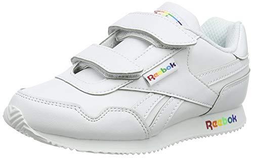 Reebok Royal CLJOG, Zapatillas de Running, Blanco/VECRED/HIVIOR, 34 EU