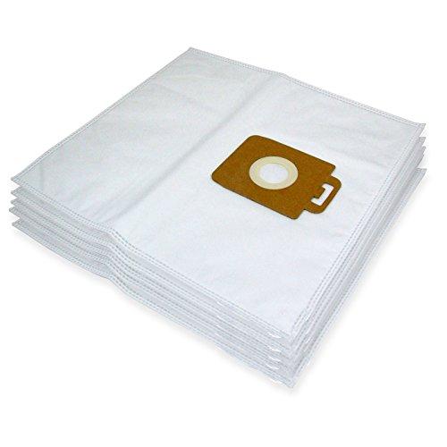 Spares2go Sacs Chiffon de nettoyage en microfibre pour Nilfisk Power P10 P12 P20 P40 Aspirateur (lot de 5)