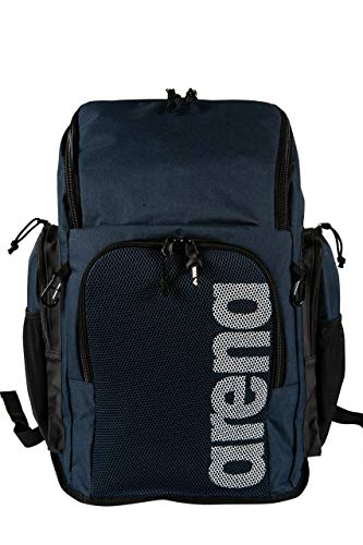 ARENA Unisex– Erwachsene Schwimm Sport Rucksack 45L Team, blau, NS