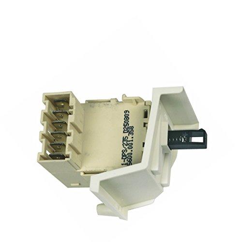 Botón Interruptor Interruptor Encendido/Apagado para lavavajillas BSH 16588600165886Bosch Balay, Constructa, Siemens, Neff