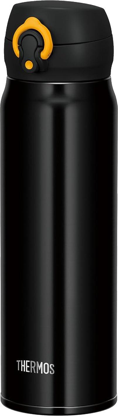いたずら批判する研磨サーモス 水筒 真空断熱ケータイマグ 【ワンタッチオープンタイプ】 600ml ブラックイエロー JNL-603 BKY