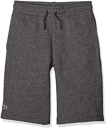 Lacoste Sport Jungen Gj0237 Sport Shorts, Grau (Bitume 050), 6 Jahre (Herstellergröße: 6A)