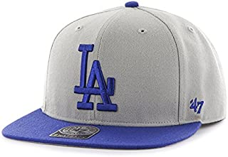 0306444abf8e12 '47 Brand Los Angeles Dodgers Two-Toned Sure Shot Mens Snapback Hat B-