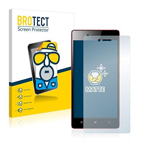 BROTECT 2X Entspiegelungs-Schutzfolie kompatibel mit Lenovo Vibe Shot Bildschirmschutz-Folie Matt, Anti-Reflex, Anti-Fingerprint
