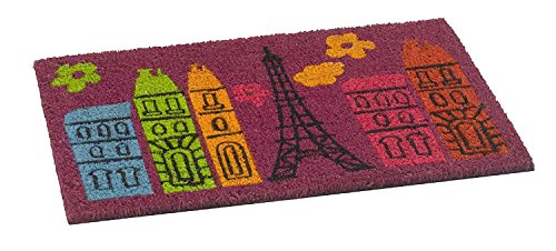 Paillasson Home / Paillasson Paillasson / Paillasson / Paillasson / Paillasson / Paillasson / Paillasson / Tapis de Coco / Tapis de Porte Modèle : Kokos Freestyle Paris Moulin Rouge France Taille : env. Tapis design amusant 40 x 60 cm Motif amusant