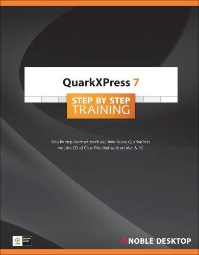 QuarkXPress 7 Step by Step Training