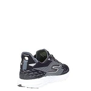 Skechers Men's GOrun 5 Running Shoe,Black/White,US 12 M