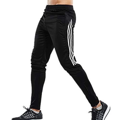 N\P Pantalones deportivos para hombre Gimnasios Fitness Bodybuilding Joggers Pantalones