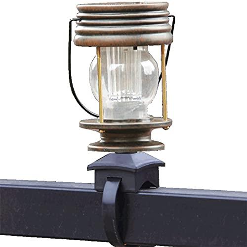 Linterna De Luz Solar Exteriores Lámparas de Queroseno Retro LED de Carga Control de Luz Inteligente IP44 Impermeable para Patio Yard Escritorio Fiesta Interior Exterior