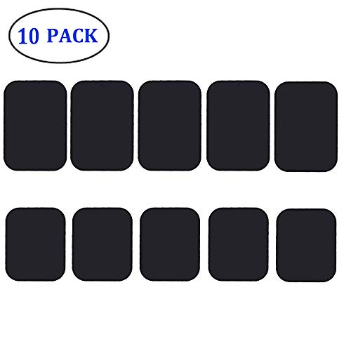 Phone Magnet Sticker, JTS Mount Metal Plate, Cell Phone Magnetic Plate (10 Pack) for Phone Magnet, Magnetic Mount, Car Mount Magnet