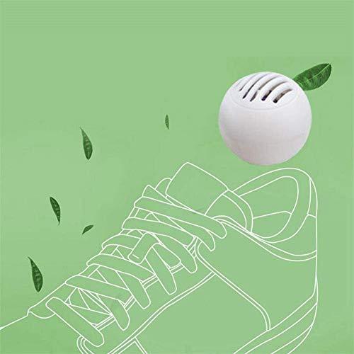 luckything Schuhdeodorierbälle, 10 PCS Geruchseliminator-Bälle Wiederverwendbare Schuh-Erfrischer Deodorant Für Sneaker, Spind, Turnbeutel, Zuhause, Büro Und Autos, Frische Luft