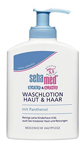 Sebamed Baby und Kind Waschlotion, 3er Vorteilspack, 3 x 200 ml