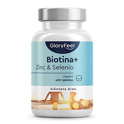 GloryFeel Biotina + Zinc + Selenio - 400...