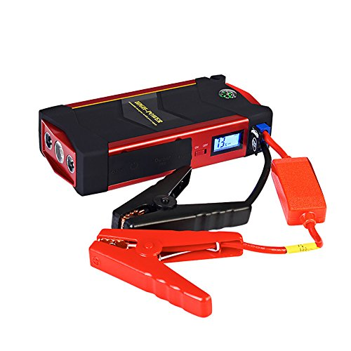 Buy Bargain CAPTIANKN Car Jump Starter 600A Peak 18000Mah With USB Quick Charge (Up To 6.0L Gas Or 3...