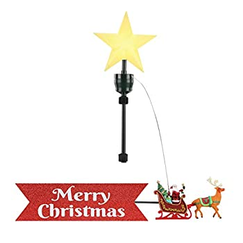 animated tree topper