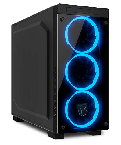 MEDION ERAZER X87008 Gaming Desktop PC (Intel Core i7-9700K, 32GB Patriot Viper RGB DDR4 RAM, 2x 512 GB PCIe SSD, MSI Nvidia GeForce RTX 2080 Ti DUKE 11G OC met 11 GB GDDR6 VRAM, Win 10 Home)