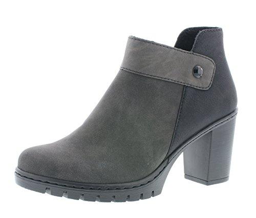 Rieker Damen Ankle Boots Y2582,Frauen Stiefel,Ankle...