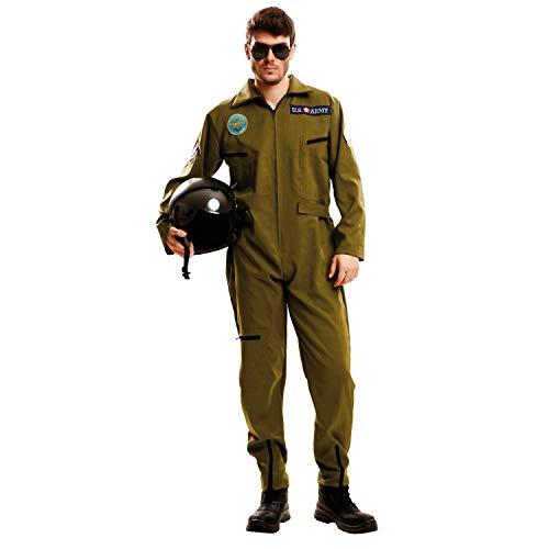 Desconocido My Other Me-202627 Piloto Disfraz Top Gun para h