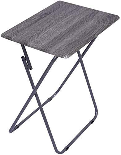 FACAIA Classeurs Table de Chevet Pliante, Table d'étude Simple pour étudiants, Table de Camping en Plein air, Protection de l'environnement, Table d'appoint Peu encombrante (Couleur: Vert)