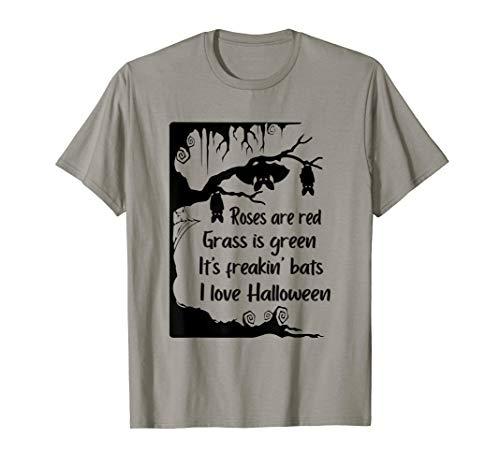 Es ist Freakin Fledermäuse Ich liebe Halloween lustiges Meme T-Shirt