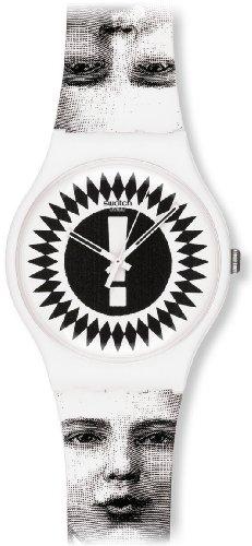 Swatch Unisex-Armbanduhr Analog Plastik SUOZ125