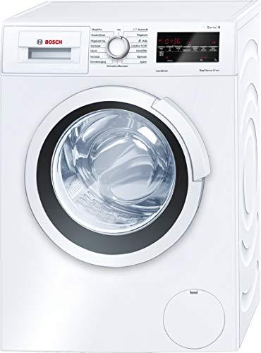 Bosch WLT24440 Serie 6 Slimline Waschmaschine Frontlader / Tiefe 44,6 cm / A+++ / 119 kWh/Jahr / 1175 UpM / 6,5 kg / Weiß / EcoSilence Drive™ / Trommelreinigung