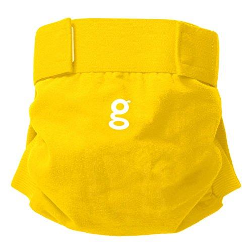 Gnappies, pannolini riutilizzabili, Good Morning Sunshine Yellow (giallo), M