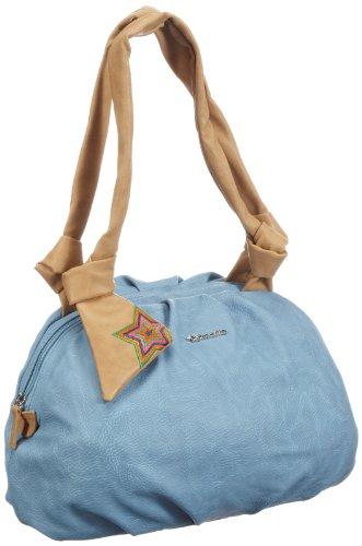 Tamaris Damen GiannaBowling Bag Bowlingtaschen, Blau (light blue comb 818), 35x23x15 cm
