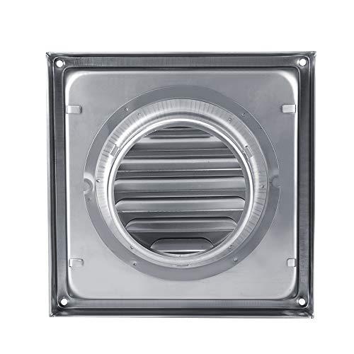 Garosa Respiraderos de Escape, Tubo de Filtro de Aire de Acero Inoxidable Rejilla Pared Ventilación de Aire Secadora Secadora Ventilador Extractor Salida de Ventilador