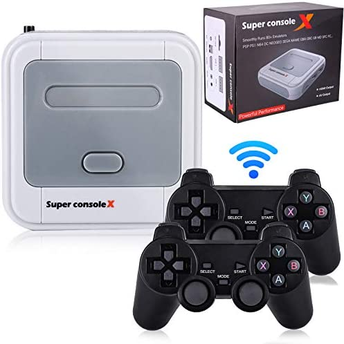 Hawiton Wireless Retro Game Console with Dual 2 4GHz Controllers Gamepads Super Console X Handheld product image