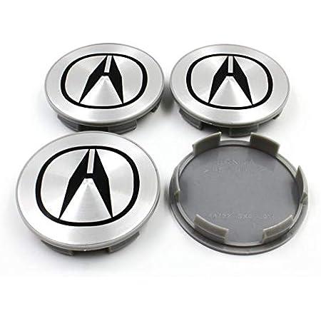 MDX Integra TL BLARYETI 4pcs 69mm Center Cap Rim Caps Hub Wheel Caps Fit For ACURA CL TSX RSX RL