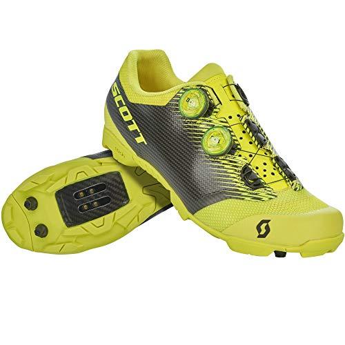 Scott MTB RC SL 2020 - Zapatillas de ciclismo, color amarillo y negro, Hombre, Sulphur Yellow Black., 45