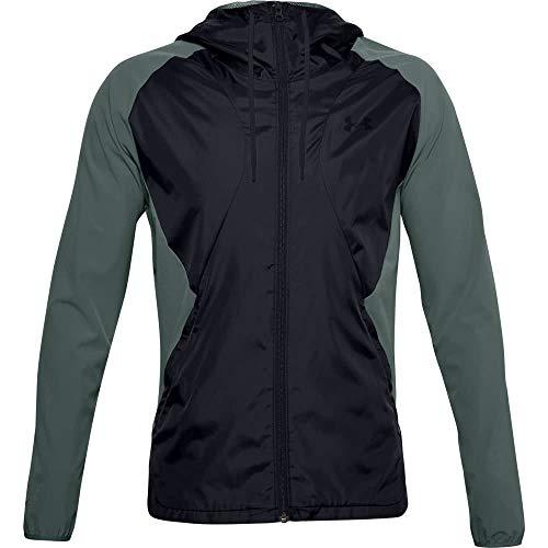 Under Armour - Camiseta térmica para Hombre, Not Applicable, Tejido elástico, Hombre, Color Lichen Azul/Negro/Azul liquen (424), tamaño Large