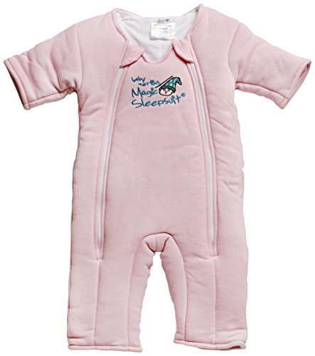 Baby Merlin's Magic Sleepsuit - Swaddle Transition Product - Cotton - Pink - 3-6 Months