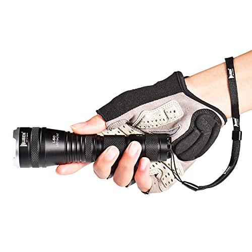 WUBEN Linterna LED Recargable Enfoque Ajustable 1200Lumen Alta Potencia Portátil Impermeable 5 Modo para Camping Montañismo Senderismo Emergencia Zoomable Linternas