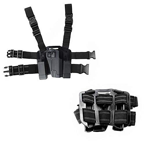 FIRECLUB Quick Tactical Right Hand Paddle & Leg Belt Fit Drop Leg Gun Holster