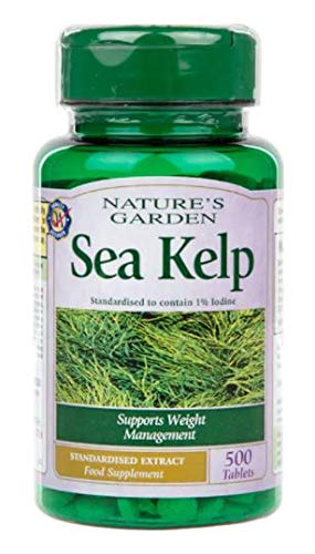 Nature's Garden Sea Kelp Tablets - 15mg x 500 Tablets