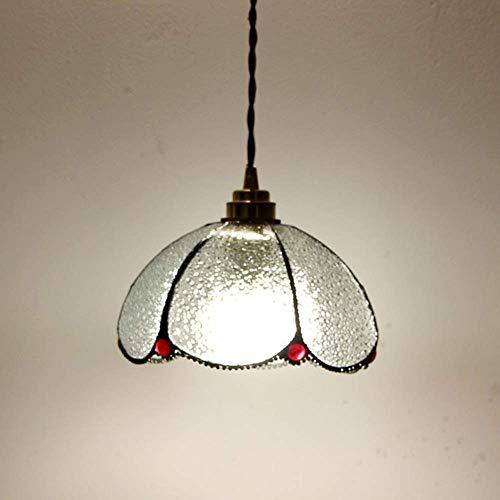Mkj Aplique Aplique Aplique Lámparas de Pasillo Espejo Lámparas Delanteras Corredor Llámparas de Amplificador Loft Moderno Cuenco de Vidrio Industrial Lámparas Colgantes Pantalla de Latón Antiguo Lám