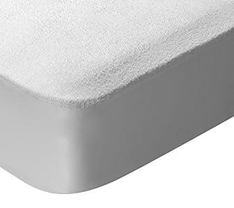 Pikolin Home - Protector de colchón para cuna de rizo algodón, impermeable y transpirable, 60x120-Cuna (Todas las medidas)