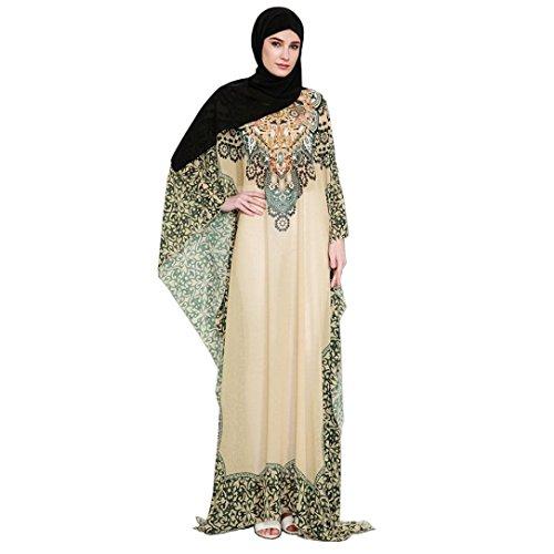 Amphia Festkleid Muslim Dubai Muslimisch Islamisch Arabisch Indien Türkisch Casual Abendkleid...