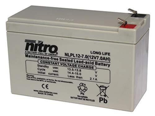 Spezial Akku Batterie Industrie Kinderauto 12V 7Ah wie 7,2Ah 9,5Ah 20hr Elektro AGM Blei Spielzeug USV RBC wiederaufladbar