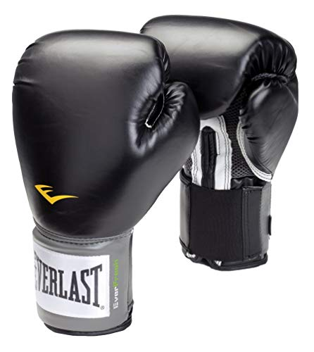 Everlast Pro Style Training Gloves (Black, 12 oz.)