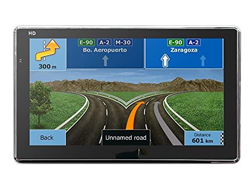 juqingshanghang1 Vehículo GPS Unidades 7 Pulgadas HD GPS Coche de navegación portátil Camping DE Camiones Navegador de Caravana Sat para Auto