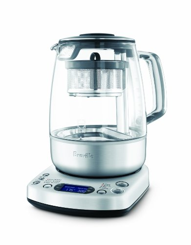 Breville BTM800XL Tea Maker, Brushed Stainless...