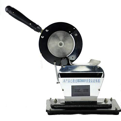cgoldenwall dq-100Manuelle Chinesische Kräuter Schneide Ginger zum Maschine Ginseng Cutter Schneiden Maschine Stärke Verstellbarer
